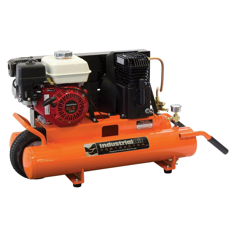 Aire Industrial Contratista cta5590856.01 8-Gallon grado cinturón Driven carretilla Compresor De Aire con Honda motor: Amazon.es: Bricolaje y herramientas