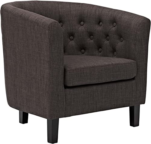 Modway Prospect Upholstered Fabric Contemporary Modern Accent Arm Chair - the best living room chair for the money