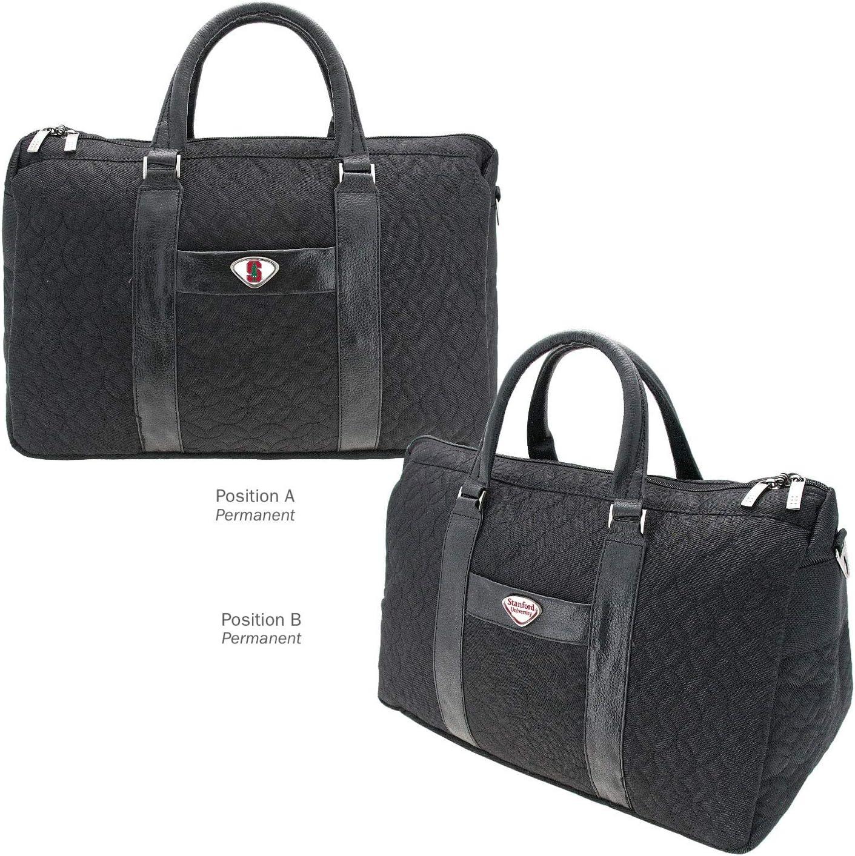 One Size Black AdSpec NCAA Stanford Cardinal Collegiate Womens Duffel BagCollegiate Womens Duffel Bag