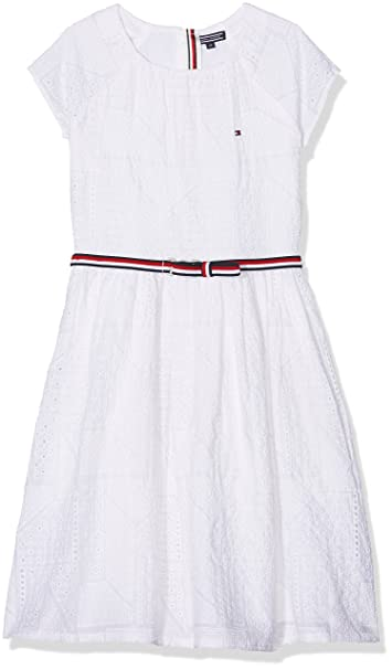 f3397895ff8 Tommy Hilfiger Girl s AME Charming Shiffley Dress S S  Amazon.co.uk ...