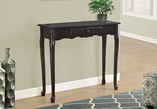 Monarch Specialties I Hall Console Accent Table, 36 , Dark Cherry