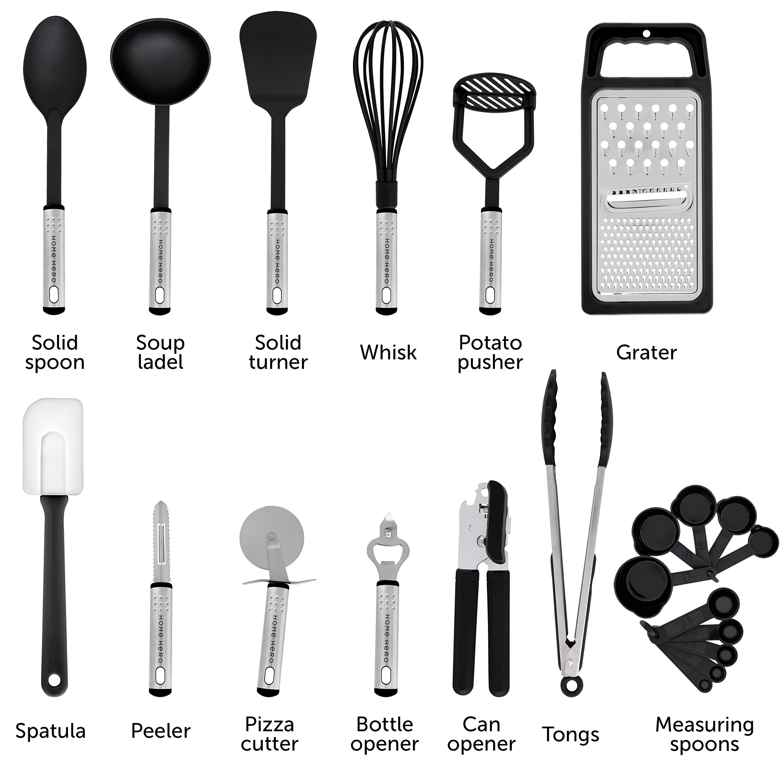 Kitchen Utensils Pictures And Names: 23 Nylon Cooking Utensils