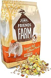 Supreme Tiny Friends Farm Reggie Rat and Mimi Mouse Tasty Mix 6lb