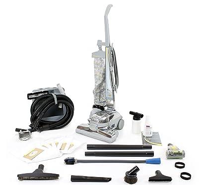 GV El aspirador con herramientas, cepillo turbo, bolsas 10 piezas Plateado