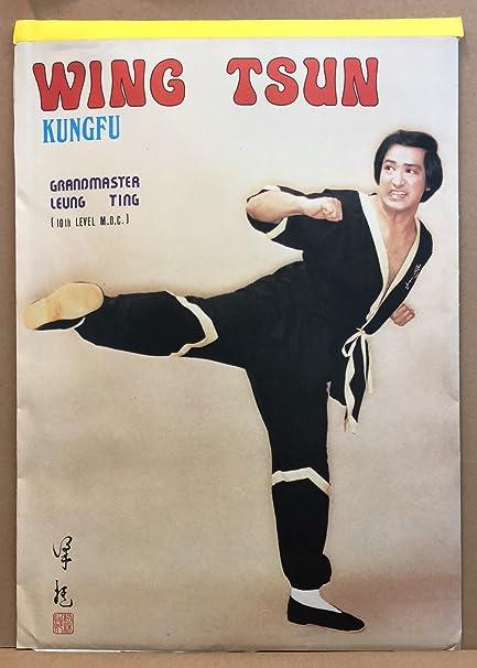Amazoncom Leung Ting Co Hong Kong Wing Tsun Kungfu 5 Poster Pack
