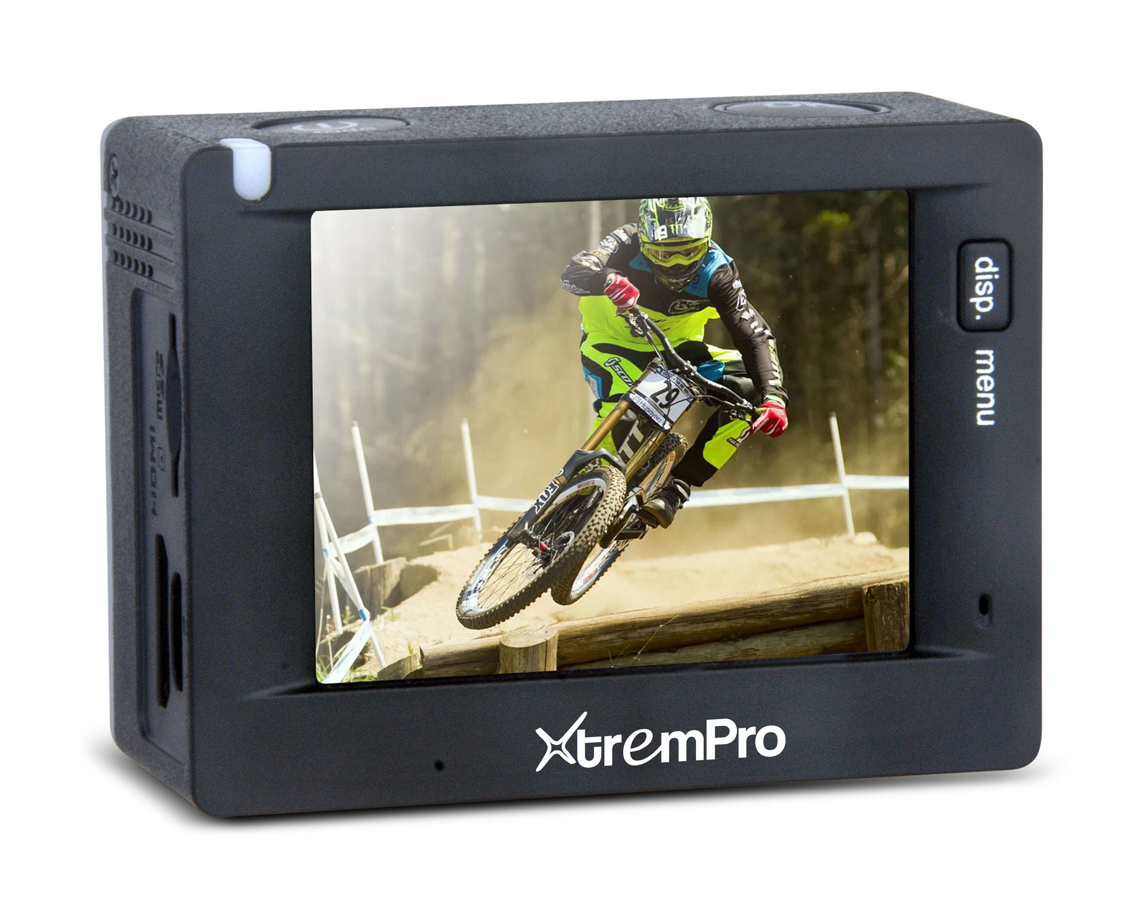 XtremPro Sports Action Video Camera Waterproof WIFI Full HD 1080P DV Camcorder 12MP MINI Digital Video w/ 2.0'' in LCD HD Plane, 130 Degree Wide, 1200mAh Battery - Black (S2) by XtremPro