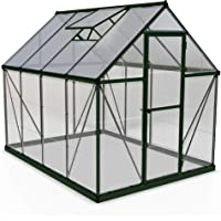 Palram HG5508G-1B Hybrid Hobby Greenhouse 6-ft x 8-ft x 7-ft Deals