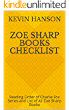 Zoe Sharp Books Checklist: Reading Order of Charlie Fox Series and List of All Zoe Sharp Books