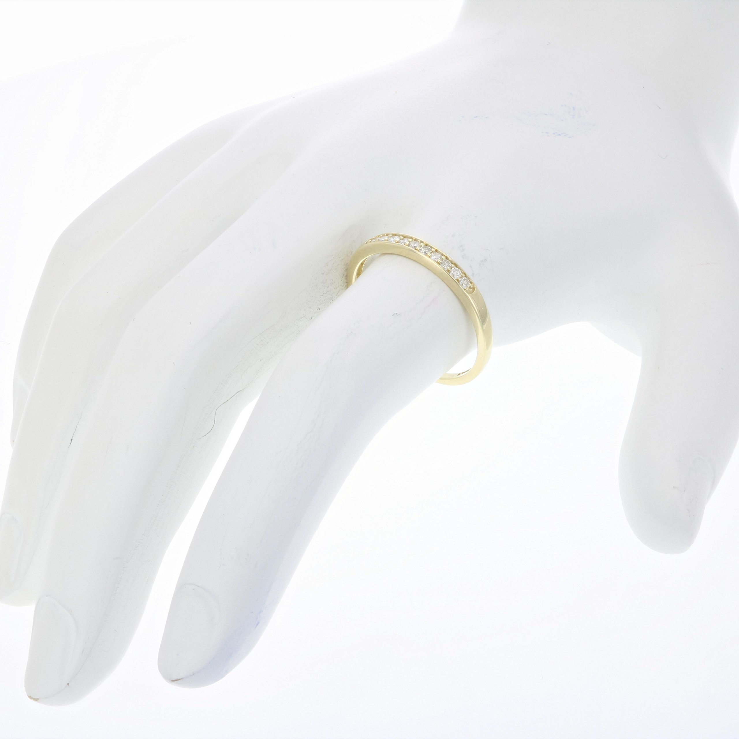 1/10 ctw Petite Diamond Wedding Band in 10K Yellow Gold In Size 9.5 by Vir Jewels (Image #3)