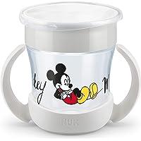 NUK Disney Mini Magic Cup - Vaso para aprender a beber   borde antigoteo 360°   asas prácticas   160 ml   sin BPA   6…