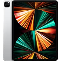 New Apple 12.9-inch iPad Pro with Apple M1 chip (Wi-Fi + Cellular, 256GB) - Silver (2021 Model, 5th Generation)