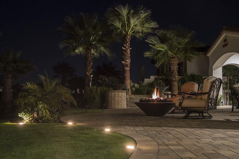 Enbrighten 41017 Seasons LED Landscape Lights (110ft.), Selectable White & Color Changing, 12 Lifetime Pucks, Wireless Remote, Outdoor, Commercial Grade, Weatherproof, Spotlight, Garden, Path Light by Enbrighten (Image #3)