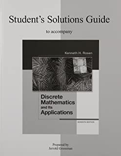 Discrete mathematics and its applications seventh edition kenneth h students solutions guide to accompany discrete mathematics and its applications 7th edition fandeluxe Image collections