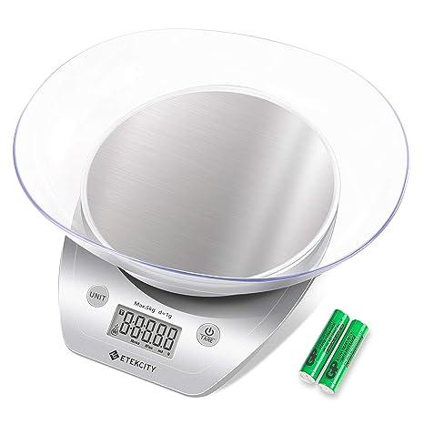 Amazon.com: Etekcity EK5150 Báscula digital de cocina para ...