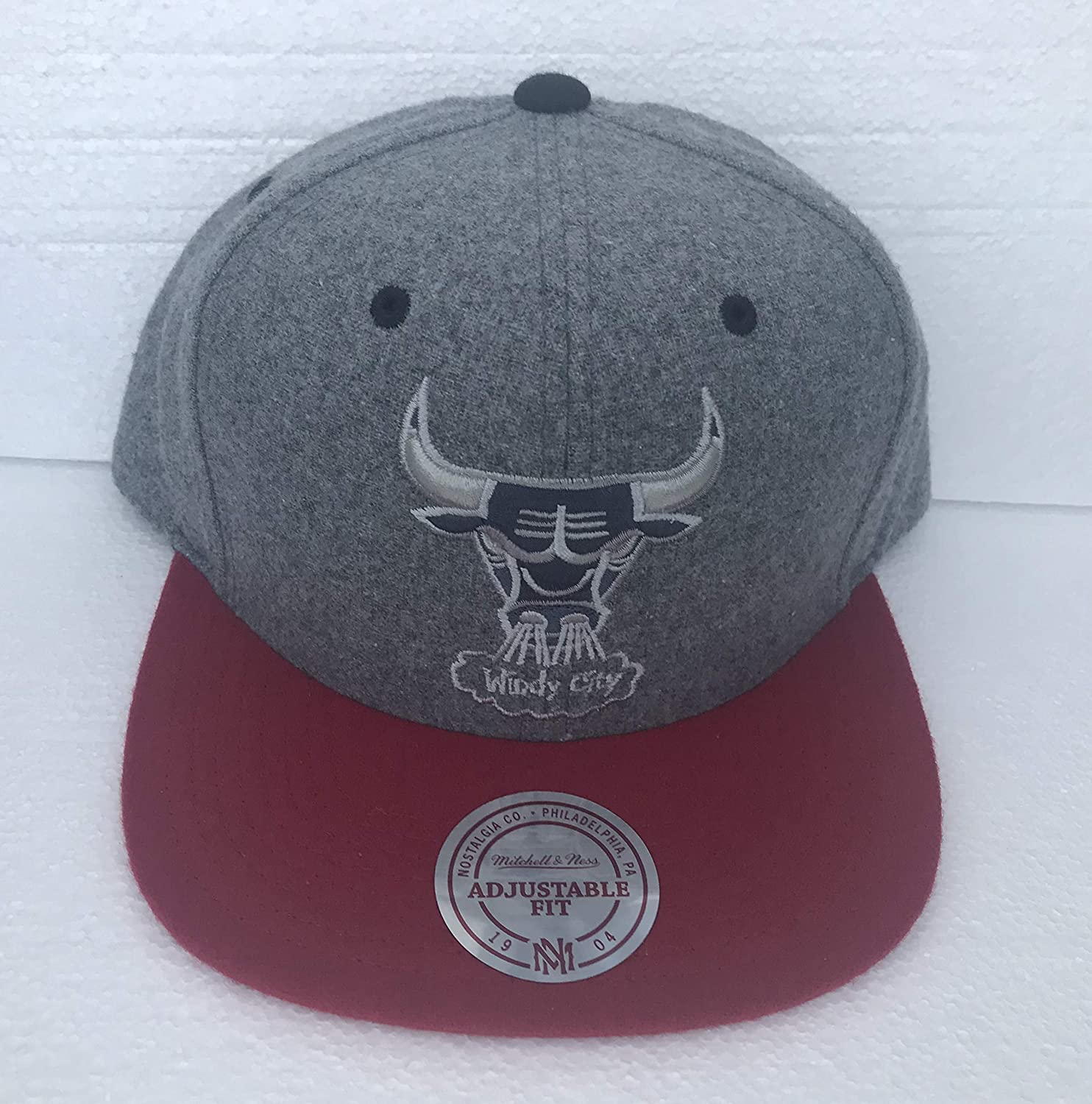 Mitchell and Ness - Gorra de béisbol Unisex Chicago Bulls Windy ...