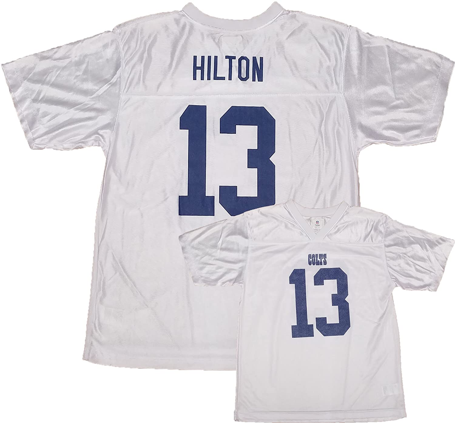 finest selection 7b898 80f05 T.Y. Hilton Indianapolis Colts White Youth Player Away ...