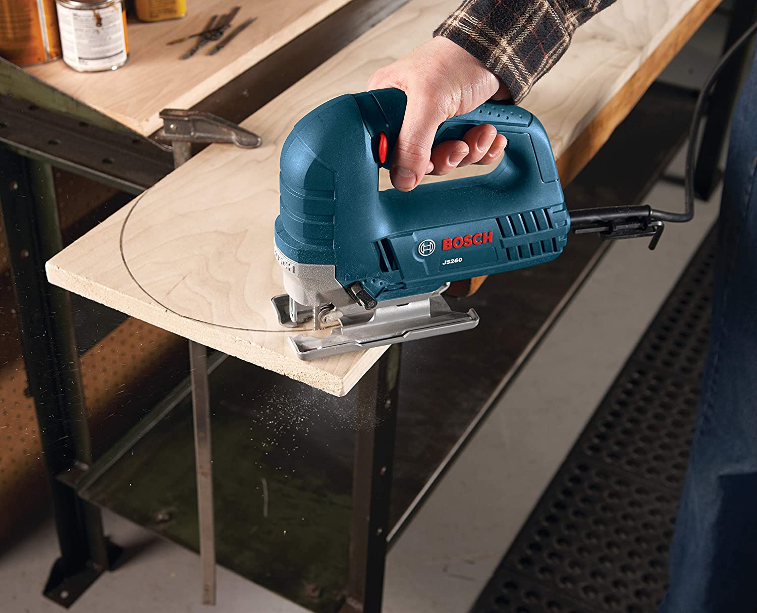 Bosch JS260 Top-Handle Jigsaw-Best Saw for Cutting Shapes Out Of Wood
