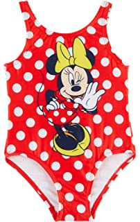Disney Minnie Mouse Baby Girls Dots Swimsuit