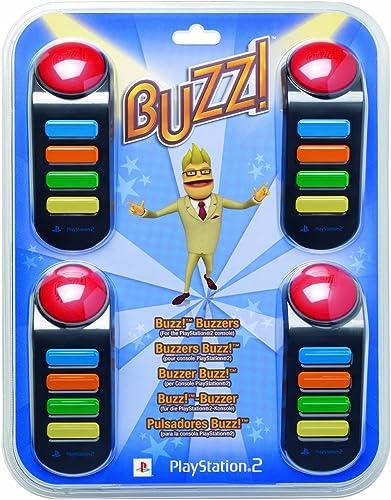 Playstation 2 - BUZZ! Buzzer (mit Kabel) [Importación alemana ...