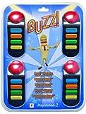 Playstation 2 - BUZZ! Buzzer (mit Kabel) [Importación alemana]