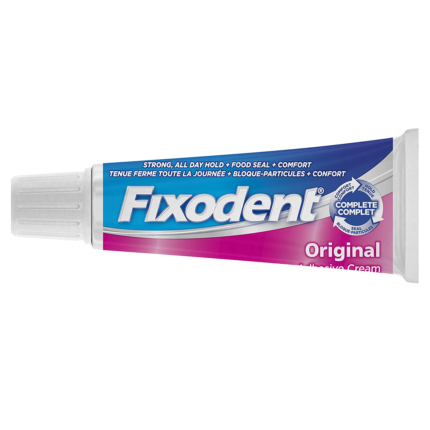 Fixodent Complete Original Denture Adhesive Cream,40g, packaging may vary