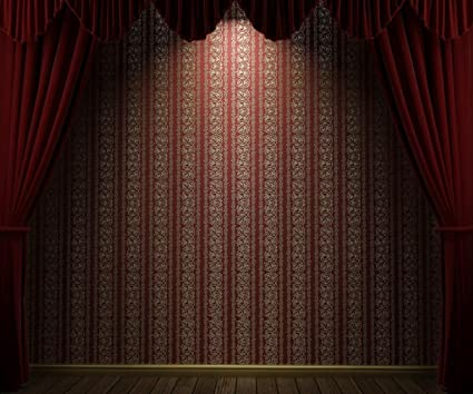 amazon com 10x8 ft vintage theater curtains photo booth backdrop