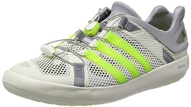 fc1dff6d13a58c adidas Mens Climacool Boat Breeze Outdoor Fitness Shoes Gray Grau  (Midgre/Sol) Size