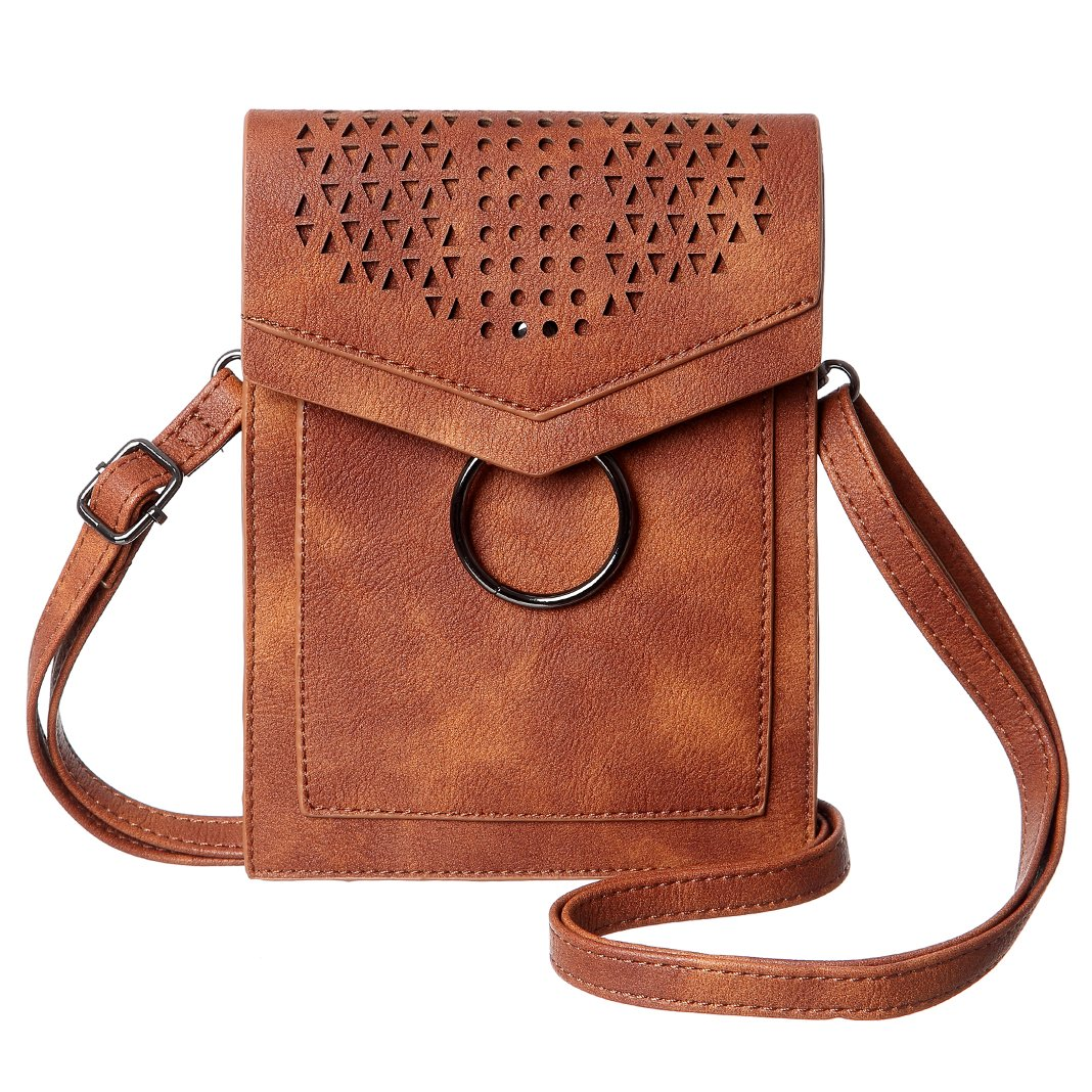 MINICAT Women Portable Small Crossbody Bags Cell Phone Purse Wallet With Credit Card Slots mini-434a
