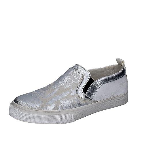 Crime London - Mocasines de Piel para mujer: Amazon.es: Zapatos y complementos