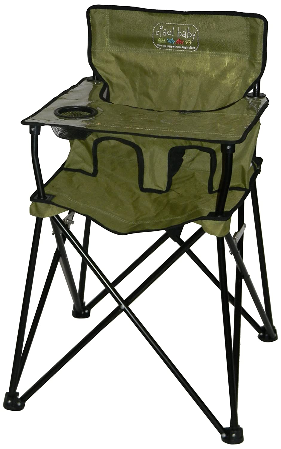 Amazon.com : Ciao! Baby Portable Highchair, Sage : Childrens Highchairs :  Baby