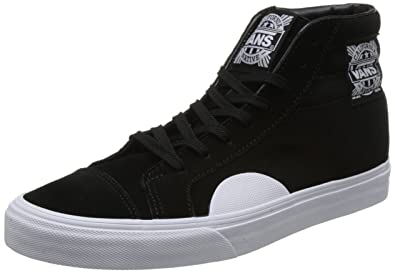 6db6fb4faf90d3 Image Unavailable. Image not available for. Color  Vans Style 238 Womens 9  Mens 7.5 Native Suede Black White Skateboarding Shoes
