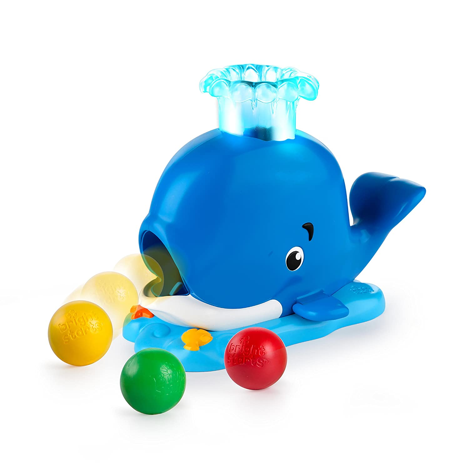 Bright Starts Silly Spout Whale Popper: Amazon.co.uk: Baby