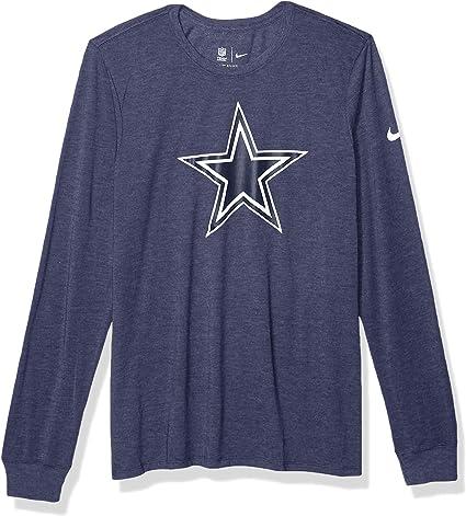Dallas Cowboys Mens Nike Long Sleeve Vault Tri-tee