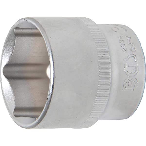 BGS 3432 entrada 20 mm Llave de vaso hexagonal 3//4 | 32 mm