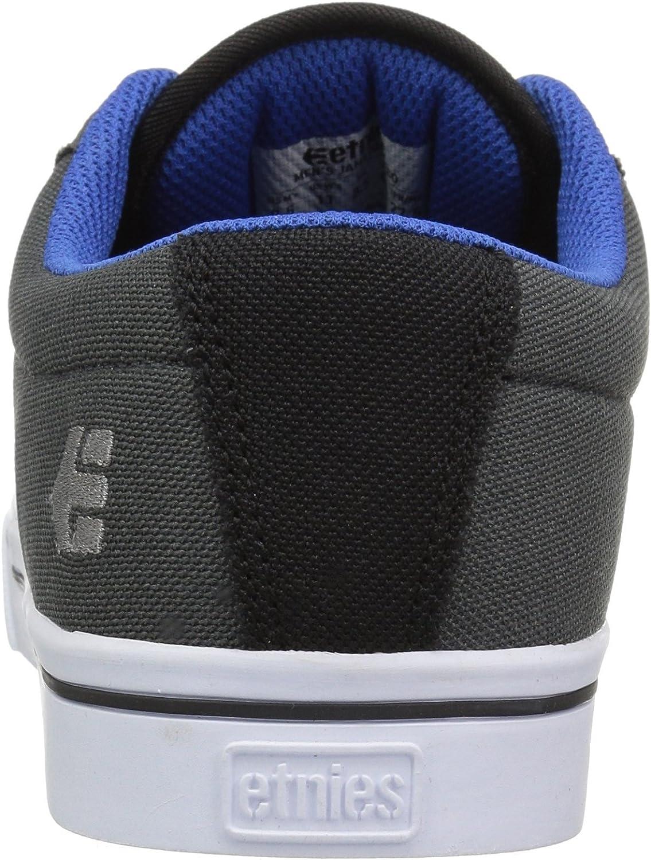 Etnies Jameson 2 Eco, Chaussures de Skateboard Homme Black Dark Grey Royal