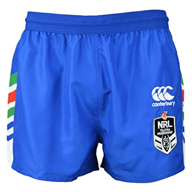 fc6d4470618734 New Zealand Warriors NRL 2018 Heritage Rugby Shorts - Royal - Size XXL   Amazon.co.uk  Clothing