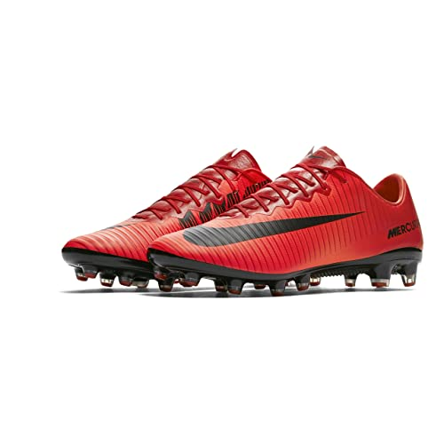Botas de fútbol para hombre Nike Mercurial Vapor XI (AG de Pro) Césped  Artificial Rojo  Amazon.es  Deportes y aire libre c0ba238b4eeab
