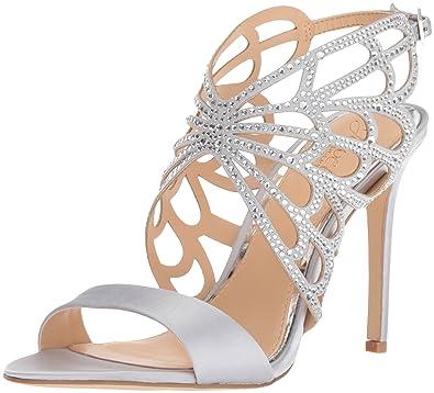 305da0ea1129 Amazon.com  Badgley Mischka Jewel Women s Taresa Heeled Sandal  Shoes