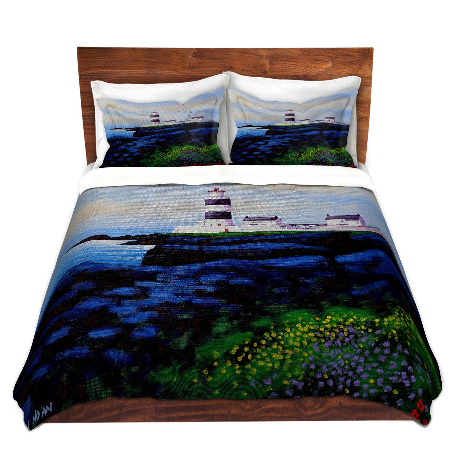 DiaNoche Designs John Nolan-Hook Lighthouse l Brushed Twill