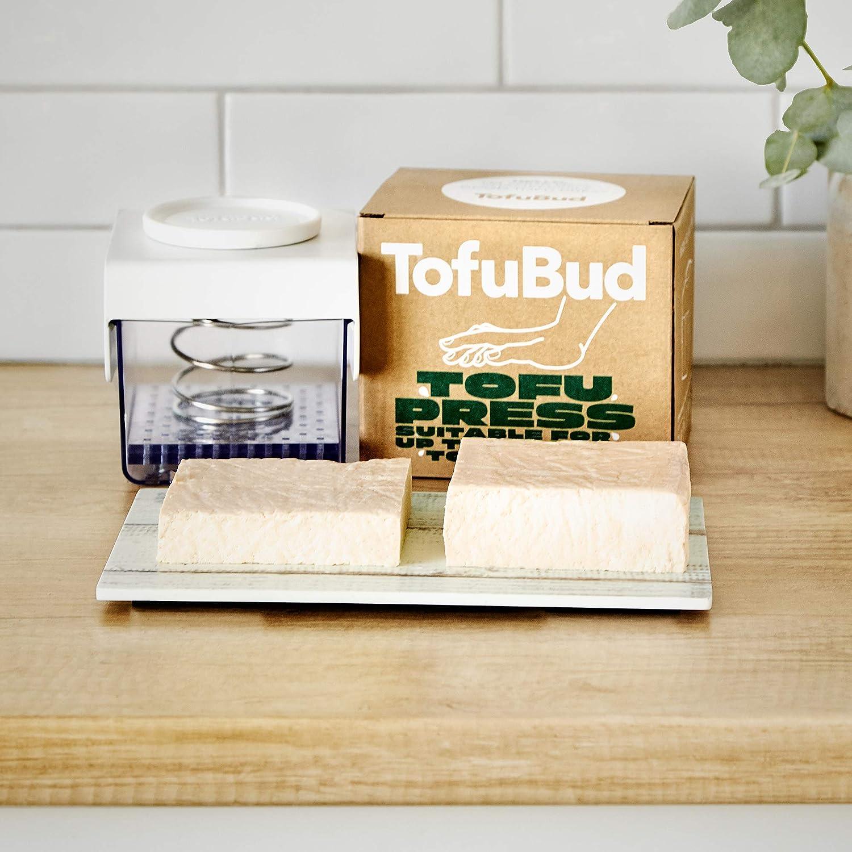 TofuBud Prensa de tofu M/áquina para tofu Prensadora para hacer tofu firme o extrafirme