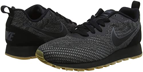 new arrival f9836 52f11 Amazon.com   Nike Women s Md Runner 2 Eng Mesh Low-Top Sneakers, Black, 8  UK 8 UK   Road Running