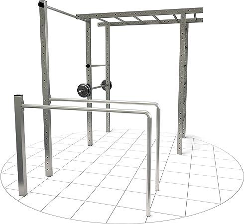 Barras crossfit de Tolymp® con monkey bar y barra para flexiones ...