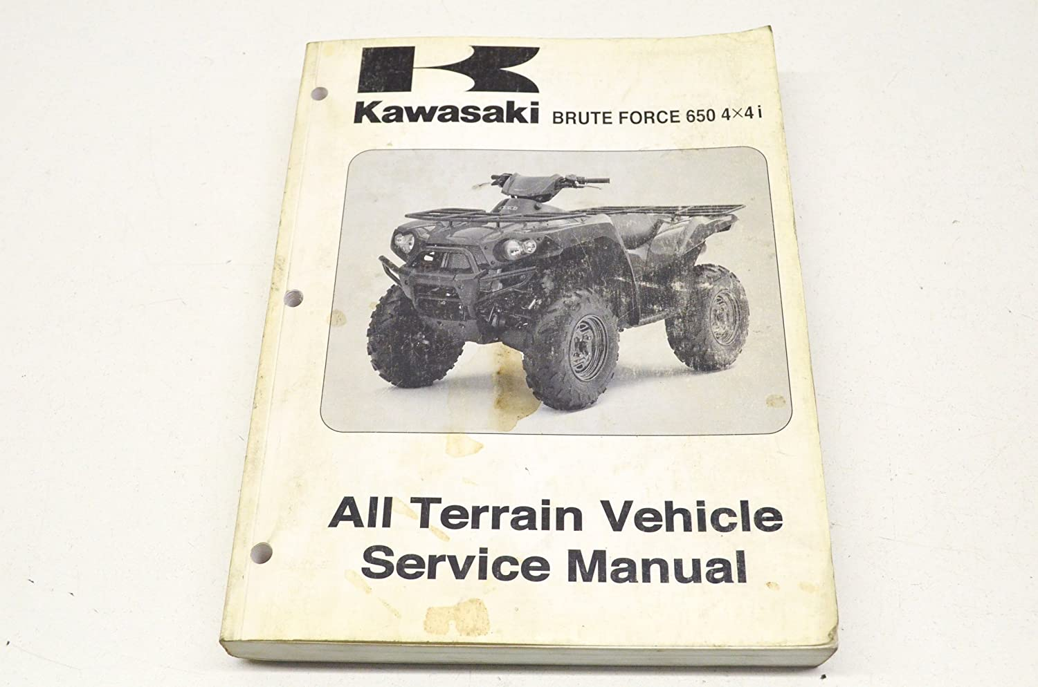 Amazon.com: Kawasaki 99924-1363-31 Service Manual 06 Brute Force 6504x4 i  QTY 1: Automotive
