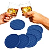 Large Drink Coasters - Absorbs Moisture and