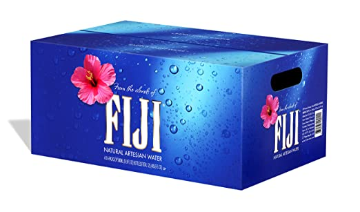 Fiji Natural Artesian Water, botellas de 500 ml (Paquete de ...
