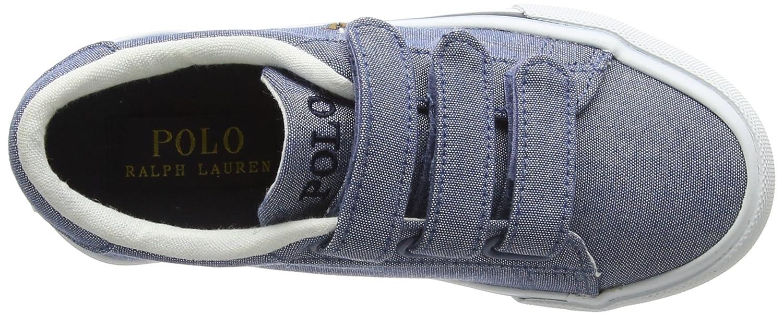 e7105b53e965 Ralph Lauren Easten EZ, Baskets garçon, Bleu (Blue Chambray 000), 28 EU   Amazon.fr  Chaussures et Sacs