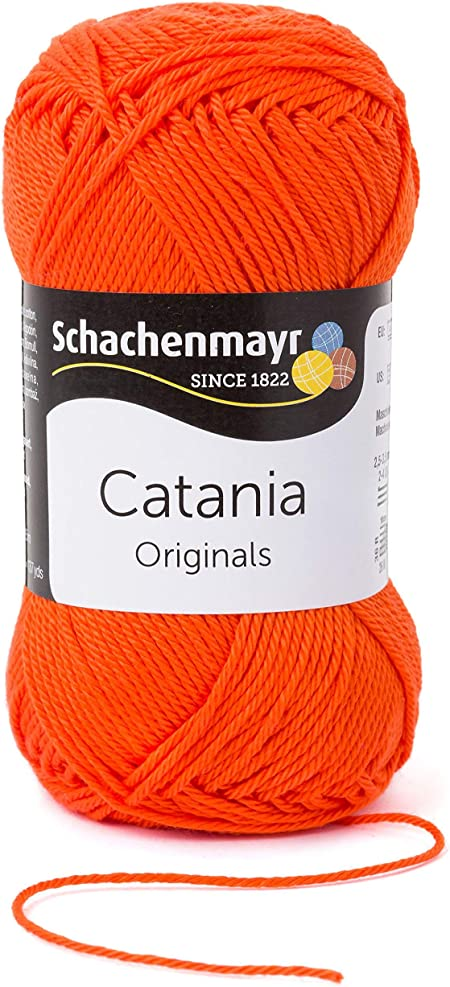 Schachenmayr Ovillo Hilo de algodón para Punto y Ganchillo Catania ...