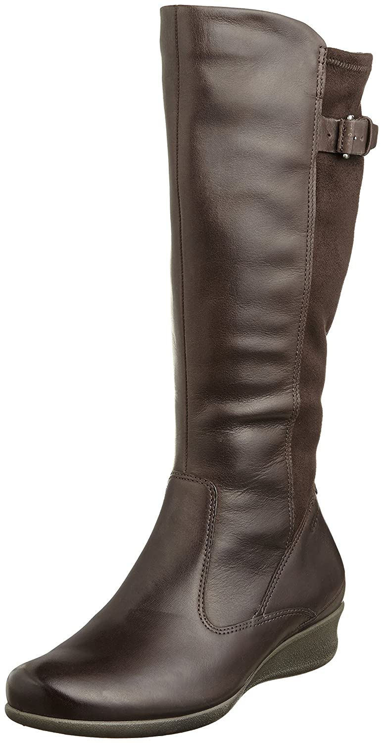 ECCO Women's Abelone Tall Boot B00HDG6TZO 36 EU/5-5.5 M US|Coffee
