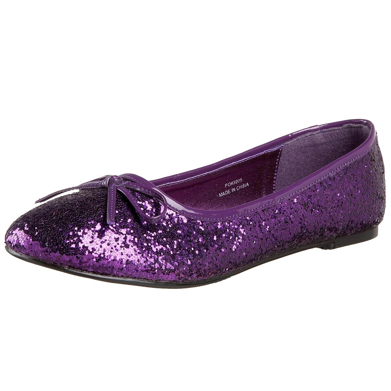 Funtasma by Pleaser Women's Star-16G Flat B002QWBYSM Size 9|Purple