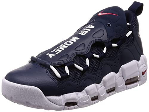 buy popular d3d83 9b501 ... sale nike mens air more money fitness shoes multicolour obsidian white  gym red 527f9 8e78d